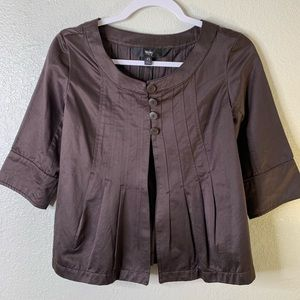 Mossimo brown blazer, size XS